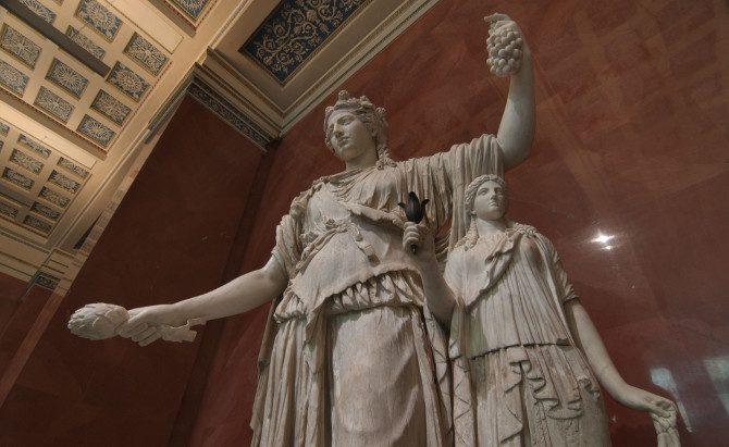 античные скульптуры