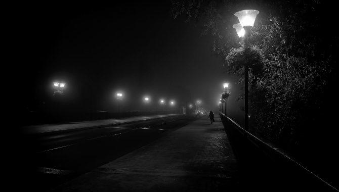 темно