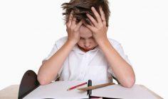 Стрессовое состояние школьника