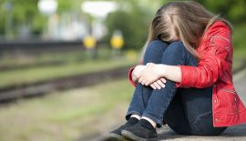 Подросток в депрессии